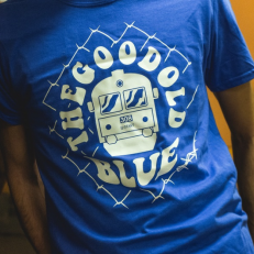 'The Good Old Blue ' T-shirt