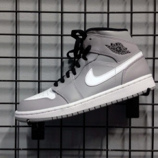 cd3606e0db56 Air Jordan 1 Mid  Wolf Grey