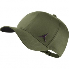 Air Jordan Classic89 Metal Jumpman Hat - Olive Canvas