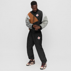 Air Jordan X Patta Jumpman AJ7 Jacket - Black/ British Tan/ River Rock