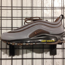 Air Max 97 Premium 'Baroque Brown' - Cool Grey/ Baroque Brown - University Gold