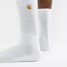 Carhartt Chase Socks 'White-Gold'