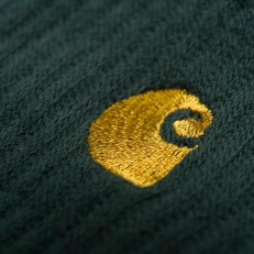 Carhartt Chase Socks 'Green-Gold'