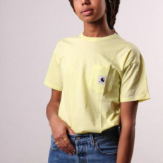 Carhartt W' S/S Carrie Pocket T-Shirt - Honey Dew