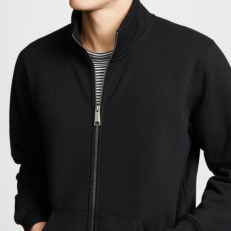 Carhartt WIP Chase Neck Jacket - Black/ Gold