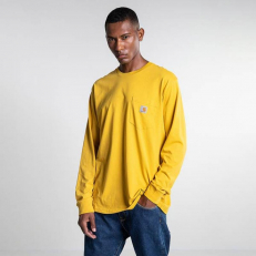 Carhartt WIP L/S Pocket Loose T-Shirt - Colza