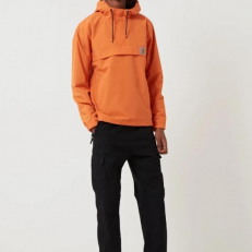 Carhartt-WIP Nimbus Half-Zip Jacket 'Jaffa Orange'