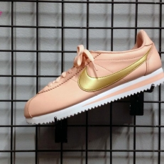 Classic Cortez Leather Rose&Gold