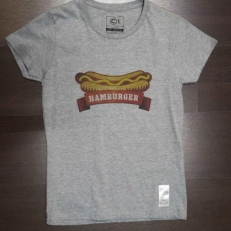 Hamburger T-shirt wmns