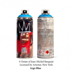 Jean-Michel Basquiat Special Edition Can - Argo Blue