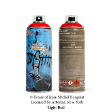 Jean-Michel Basquiat Special Edition Can - Light Red