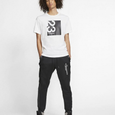 Jordan 23 Engineered T-Shirt - White/ Black