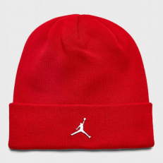 Jordan Cuffed Beanie - Gym Red