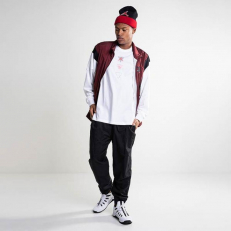 Jordan Flight Warm-Up Jacket - Gym Red/ White/ Black/ Black