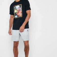 Nike Dri Fit Férfi rövidnadrág, Midnight FogBlack, S