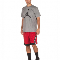 Jordan Jumpman Diamond Striped Short - Gym Red/ Black/ White