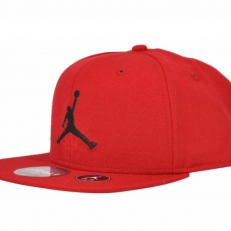 Jordan Jumpman Fitted Snapback - Gym Red/ Gym Red/ Black