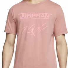 Jordan Jumpman Flight T-Shirt - Canyon Pink/ Digital Pink
