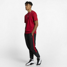 Jordan Jumpman Iconic 23/7 T-Shirt - Gym Red/ Black