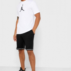 Jordan Jumpman Iconic 23/7 T-Shirt - White/ Black