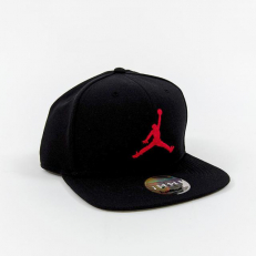 Jordan Jumpman Snapback - Black/ Gym Red