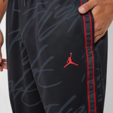 Jordan Jumpman Tricot Graphic Pants - Black/ Gym Red