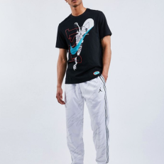 Jordan Jumpman  Tricot Graphic Pants - White/ White/ White