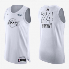 Jordan NBA All-Star Edition Authentic Jersey Kobe Bryant Lakers - White/Black