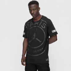 Jordan Paris Saint-Germain Logo Tee - Black
