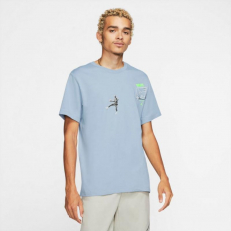 Jordan Photo Wing It T-Shirt - Obsidian Mist