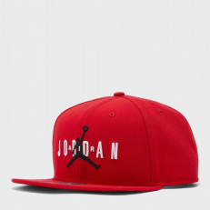 Jordan Pro Jumpman Air Snapback - Gym Red/ Black