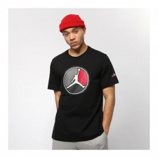 Jordan Remastered T-Shirt - Black/ Gym Red