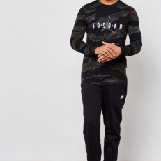 Jordan Sportswear Camo Tech Long-Sleeve T-Shirt GTX2 - Black