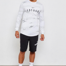 Jordan Sportswear Camo Tech Long-Sleeve T-Shirt GTX2 - White