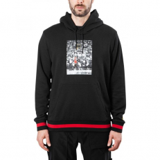 Jordan Sportswear Last Shot Wings Lite Hoodie - Black/Gym Red/Tour Yellow