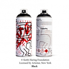 Keith Haring Special Edition Can - Black