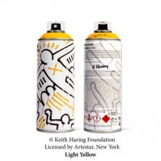 Keith Haring Special Edition Can - Light Yellow