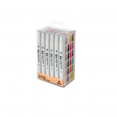 MTN 94 Graphic Marker Grey - Basic 24 Pack