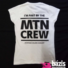 MTN Crew Wmns T-shirt (white-black)