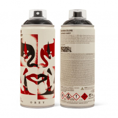 MTN Limited Cans X Shepard Fairey - Black
