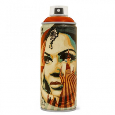 MTN Limited Cans X Shepard Fairey - Light Red