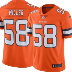 NFL Denver Broncos Color Rush Limited (Von Miller)