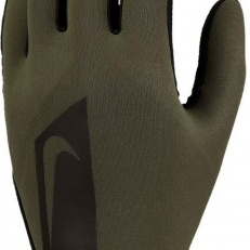 Nike Academy Hyperwarm Football Gloves - Olive Canvas/ Black
