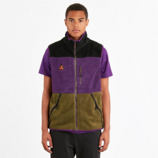 Nike ACG Vest - Black/Olive Canvas/Purple