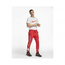 Nike Air Fleece Pants-Red