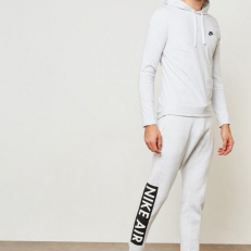 Nike Air Fleece Sweatpants Light Grey