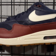 Nike Air Max 1 'Navy &Sail Team Red'