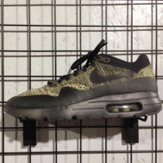 Nike Air Max 1 Ultra Flyknit - Neutral Olive/ Black - Sequoia