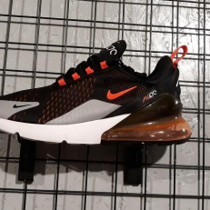 Nike Air Max 270 'Black Bright Crimson'