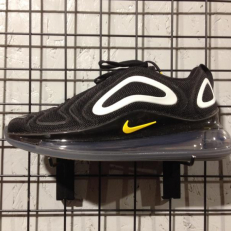 Nike Air Max 720 (GS) - Black/ Amarillo - Pure Platinum